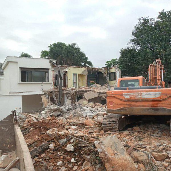 Demolição de casas preço