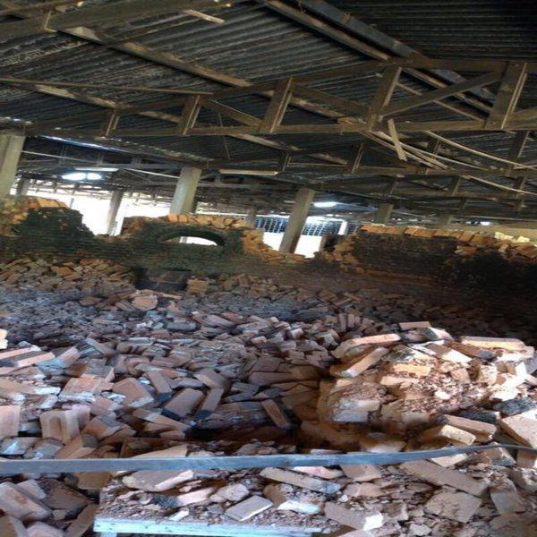 Demolição silo