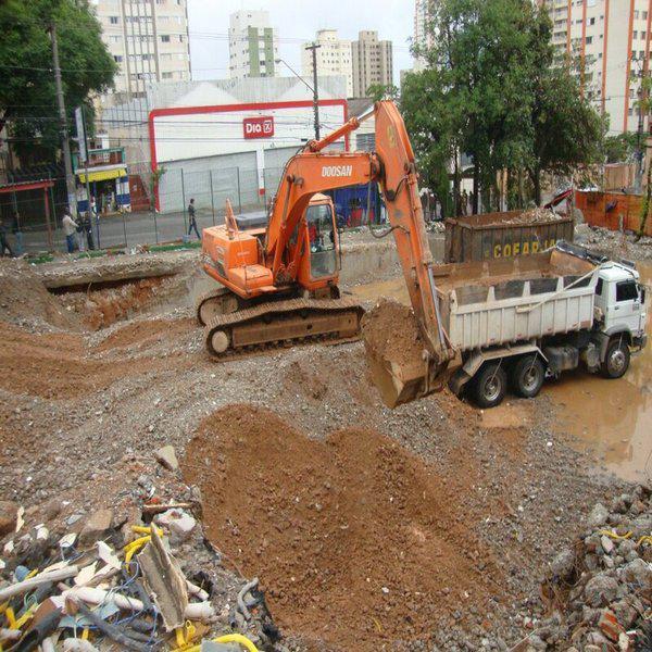 Empreitada demolição
