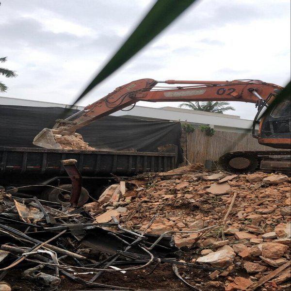 Empresa demolição sustentável