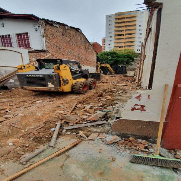 Preço de demolição por m2
