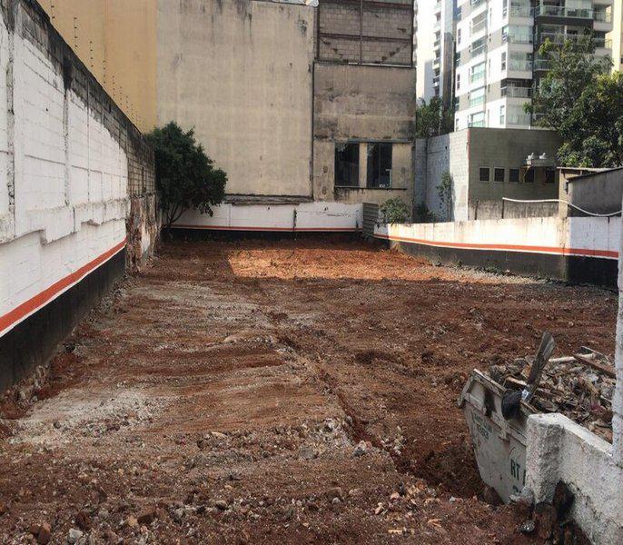 Terraplanagem demolicao